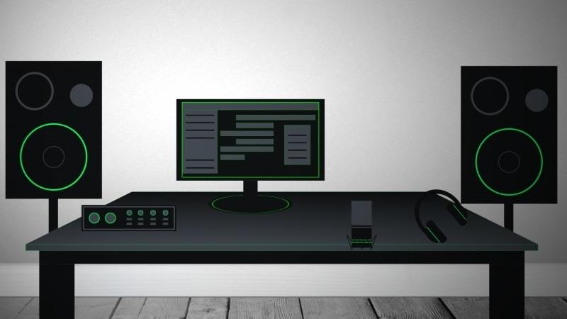 fragen zum home studio setup